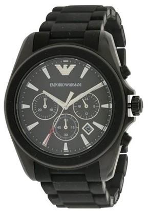Emporio Armani Sport Rubber Chronograph Mens Watch AR6092
