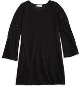 Pinc Premium Girls' Bell Sleeve Lace Dress