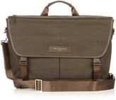 """WANT Les Essentiels Jackson 15"""" cotton-canvas messenger bag"""