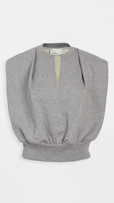 3.1 Phillip Lim Sleeveless French Terry Top