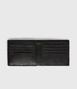AllSaints Havoc Leather Biker Wallet