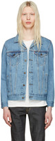 Levi's Levis Blue Denim Trucker Jacket