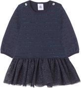 Petit Bateau Two-material dress