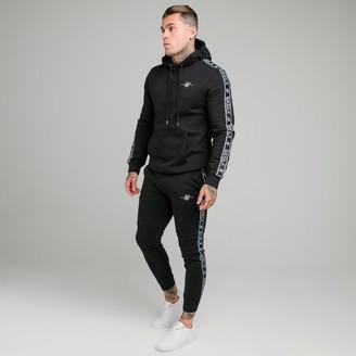 SikSilk Men's Fleece Hoodie and Jogger Pants Track Suit