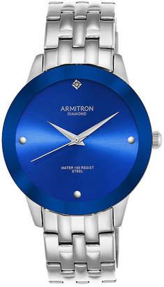 Armitron All Sport Mens Silver Tone Stainless Steel Bracelet Watch-20/4952blsv