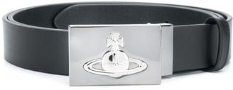 Vivienne Westwood signature orb logo belt