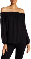 Laundry by Shelli Segal Smocked Blouse
