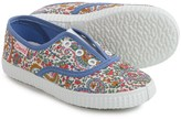 Cienta Floral Sneakers (For Toddlers and Little Girls)