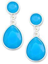 Charter Club Stone Drop Earrings, Created for Macy's