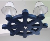 The Well Appointed House Shipwrecked Wheel Chandelier
