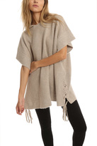 RtA Marcel Lace Up Poncho