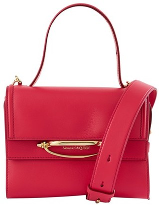 Alexander McQueen Story small bag in leather