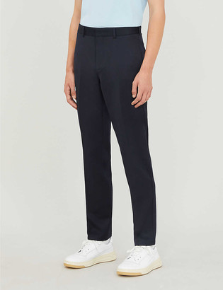 Sandro Tailored-fit gabardine trousers