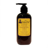 The Naked Bee Lavender and Beeswax Absolute (Gently Scented) Hand and Body Lotion by 8oz Lotion)