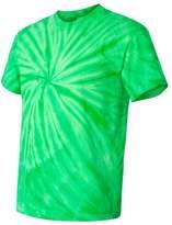 Tie-Dyed Cyclone Pinwheel Mens Short Sleeve T-Shirt (, XXXL)