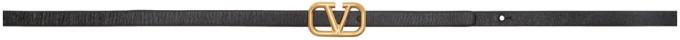 Valentino Black Garavani VLogo Belt