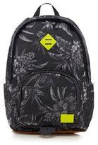 Animal Grey Floral Print Backpack