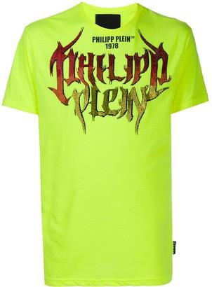 Philipp Plein logo-print short sleeved T-shirt