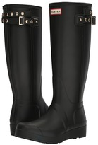Hunter Original Tall Wedge Back Strap Stud Women's Rain Boots