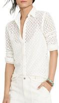 Lauren Ralph Lauren Eyelet Lace Shirt