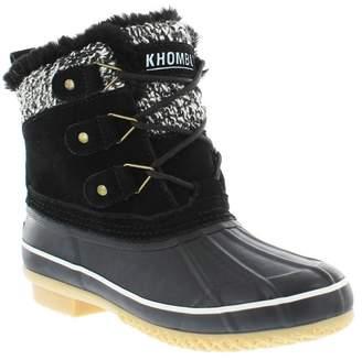 Khombu Lola Waterproof Faux Fur Boot