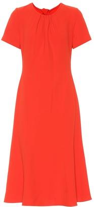 Diane von Furstenberg Rose crepe dress