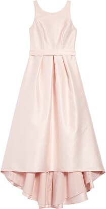 Dessy Collection High/Low Junior Bridesmaid Dress