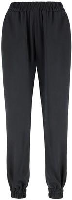 Monica Nera Eveline Black Cotton Trousers