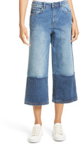 Robert Rodriguez Two-Tone Gaucho Jeans