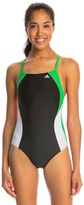 adidas Women's Arc Infinitex Vortex Back One Piece Swimsuit 7532548