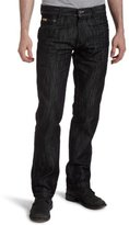 Southpole Men's Big & Tall Relaxed Fit Basic Shiny Streaky Denim