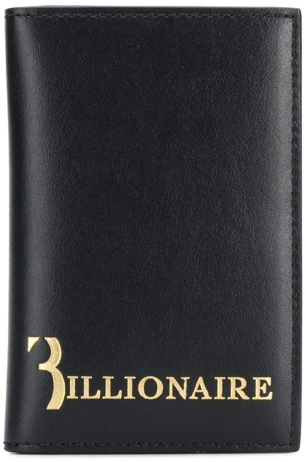 Billionaire logo wallet