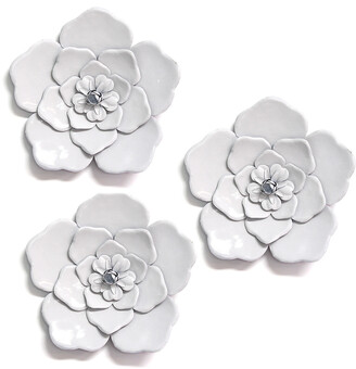 Metal Flower Wall Decor Shop The World S Largest Collection Of Fashion Shopstyle