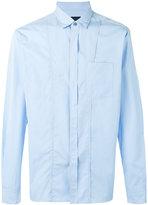 Lanvin front seam stitch shirt - men - Cotton - 38