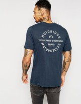 Dickies T-shirt With Motorcycle Back Print