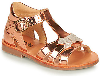 Citrouille et Compagnie MINIMOME girls's Sandals in Brown