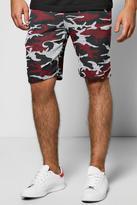 Boohoo Camo Space Shorts