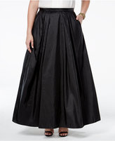 Alex Evenings Plus Size Pleated A-Line Skirt