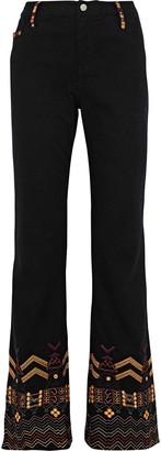 Camilla The Path Embellished High-rise Flared Jeans
