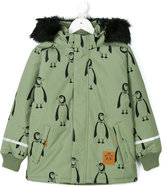 Mini Rodini padded penguin parka