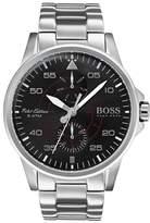 BOSS Men's Hugo Aviator Multifunction Bracelet Watch, 44Mm