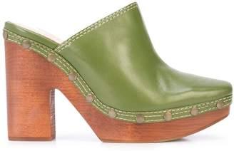 Jacquemus chunky heel mules