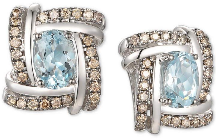 Le Vian Chocolate Diamond Earrings Style