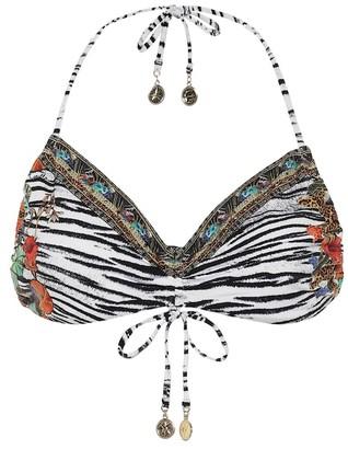 Camilla Printed bikini top