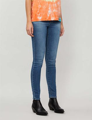 J Brand Maria slim-fit skinny high-rise jeans