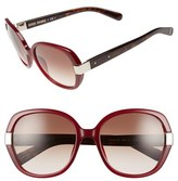 Bobbi Brown Women's 'The Skylar' 54Mm Sunglasses - Brown Havana