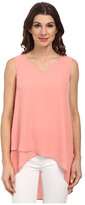 Karen Kane Layered V-Neck Tank Top