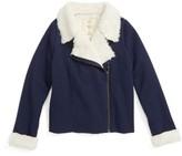 Tucker Girl's + Tate Cozy Moto Jacket