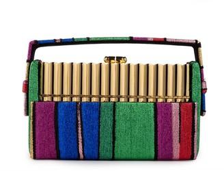 BIENEN-DAVIS Xenon Stripe Minaudiere Bag