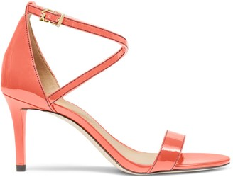 Michael Kors Ava Patent Leather Sandals
